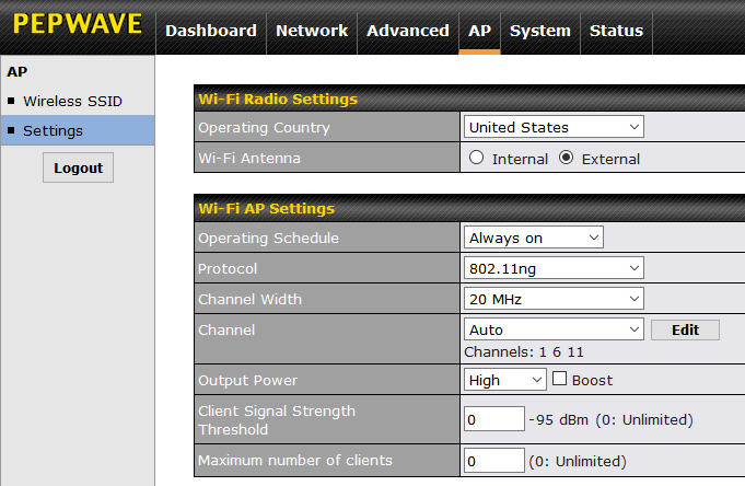 Pepwave Surf SOHO router initial configuration - RouterSecurity org
